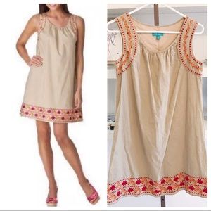 EUC Calypso St. Barth for Target Embroidered Dress